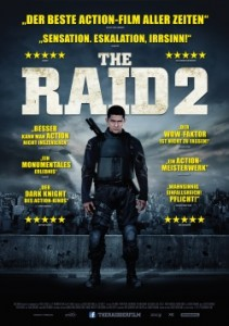 """Das Plakat von """"The Raid 2"""" (Quelle Koch Media)"""