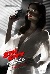 """Ava in lasziver Pose auf dem neuen Plakat zu """"Sin City 2"""" (Quelle: Sony Pictures)"""