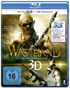 """Das Cover der 3D-Blu-ray von """"Wasteland"""" (Quelle: Tiberius Film)"""