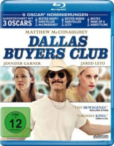 "Das Blu-ray-Cover von ""Dallas Buyers Club"" (Quelle: Ascot Elite)"
