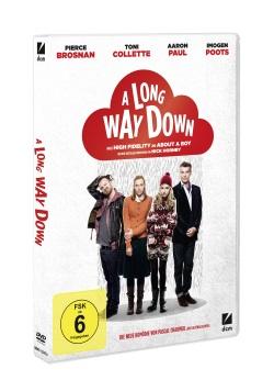 "Das DVD-Cover von ""A Long Way Down"" (Quelle: DCM)"
