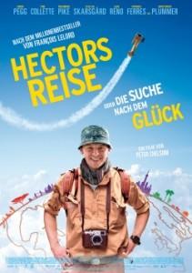 """Das Plakat von """"Hectors Reise oder die Suche nach dem Glück"""" (Quelle: Wild Bunch Germany)"""