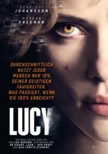 """Das Plakat von """"Lucy"""" (Quelle: Universal Pictures)"""