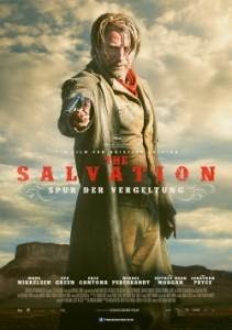 """Das Plakat von """"The Salvation"""" (Quelle: Concorde Film)"""