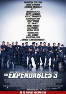 "Das Plakat von ""The Expendables 3"" (Quelle: 20th Century Fox)"