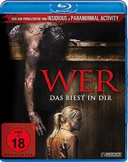 """Das Blu-ray-Cover von """"WER"""" (Quelle: Ascot Elite)"""