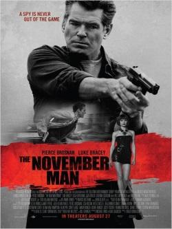 """Das Plakat von """"The November Man"""" (Quelle: Wild Bunch Germany, Fantasy Filmfest)"""