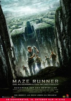 """Das Plakat von """"Maze Runner"""" (Quelle: 20th Century Fox)"""