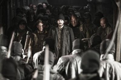 Curtis und seine Unterstützer kurz vor dem Kampf (Quelle: Ascot Elite, MFA Film)