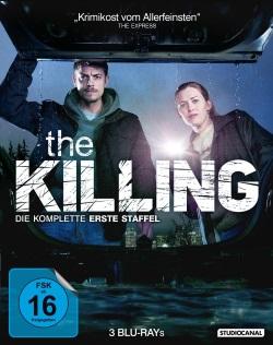 """Das Blu-ray-Cover der ersten Staffel von """"The Killing"""" (Quelle: Pandastorm Pictures)"""