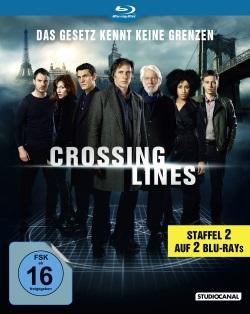 "Das Blu-ray-Cover von ""Crossing Lines Staffel 2"" (Quelle: StudioCanal)"