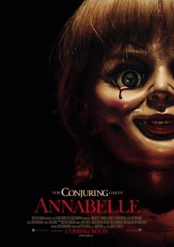 """Das Plakat von """"Annabelle"""" (Quelle: Warner Bros Pictures)"""