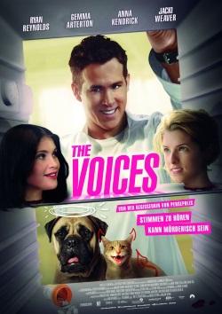 """Das Kinoplakat von """"The Voices"""" (Quelle: Ascot Elite)"""