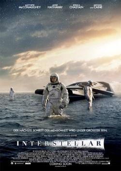 """Das Plakat von """"Interstellar"""" (Quelle: Warner Bros Pictures)"""