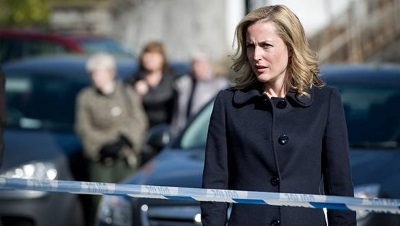"Gillian Anderson in ""The Fall"" (Quelle: Netflix, ZDF, Cologne Conference)"