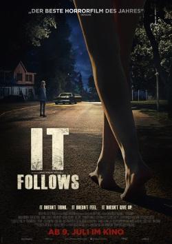 """Das Kino-Plakat von """"It Follows"""" (Quelle: Weltkino)"""