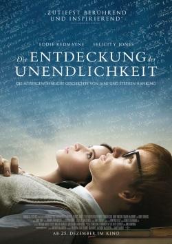 """Das Plakat von """"Die Entdeckung der Unendlichkeit"""" (Quelle: Universal Pictures)"""