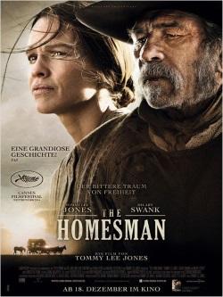 """Das Plakat von """"The Homesman"""" (Quelle: Universum Film)"""