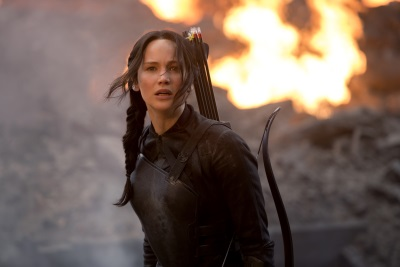 Katniss wird zum Symbol für ein neues Zeitalter (Quelle: StudioCanal)