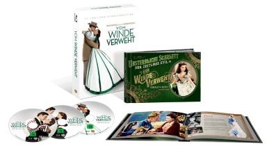"""Das Blu-ray-Cover von """"Vom Winde verweht"""" (Quelle: Warner Bros)"""