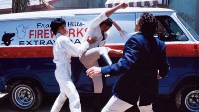Jackie Chan war schon in den 80ern sehr schlagkräftig (Quelle: Winklerfilm)
