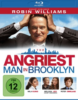 "Das Blu-ray-Cover von ""The Angriest Man in Brooklyn"" (Quelle: Universum Film)"