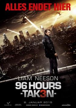 """Das Plakat von """"96 Hours - Taken 3"""" (Quelle: Universum Film)"""