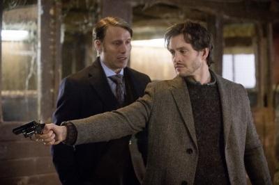 Hannibal spielt mit Will ein gefährliches Spiel (Quelle: StudioCanal)