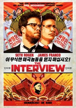 """Das Plakat von """"The Interview"""" (Quelle: Columbia Pictures)"""