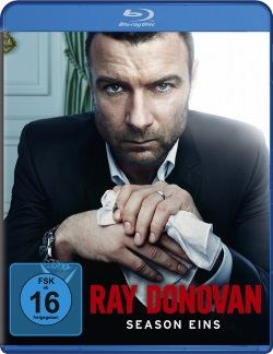 "Das Blu-ray-Cover von ""Ray Donovan Staffel 1"" (Quelle: Paramount Pictures Home Entertainment)"