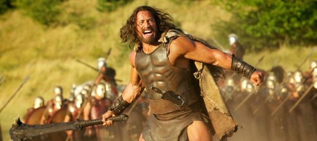 Hercules auf dem Schlachtfeld