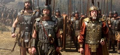 König Cotys vertraut auf die Dienste von Hercules (Paramount Pictures Home Entertainment)
