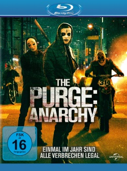 "Das Blu-ray-Cover von ""The Purge - Anarchy"" (Quelle: Universal Pictures)"