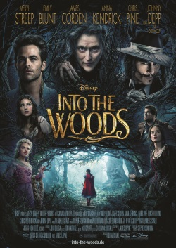 "Das Kinoplakat von ""Into the Woods"" (Quelle: Walt Disney Pictures Germany)"