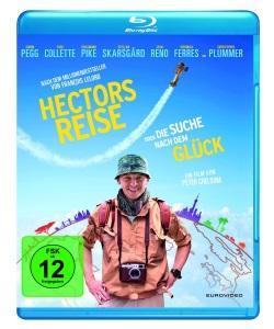 """Das Blu-ray-Cover von """"Hectors Reise oder die Suche nach dem Glück"""" (Quelle: Eurovideo)"""