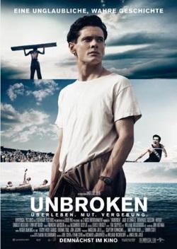 """Das Kino-Plakat von """"Unbroken"""" (Quelle: Universal Pictures)"""