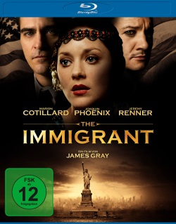 "Das Blu-ray-Cover von ""The Immigrant"" (Quelle: Universum Film)"