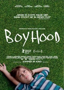 """Das Kinoplakat von """"Boyhood"""" (Quelle: Universal Pictures)"""
