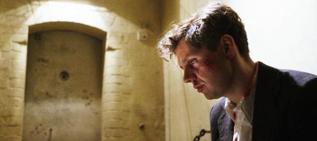 Georg Elser (Christian Friedel) in seiner Verhör-Zelle (Quelle: Lucky Bird Pictures)