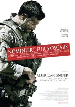 """Das Kino-Plakat zu """"American Sniper"""" (Quelle: Warner Bros Pictures Germany)"""