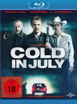 """Das Blu-ray-Cover von """"Cold in July"""" (Quelle: Universal Pictures)"""