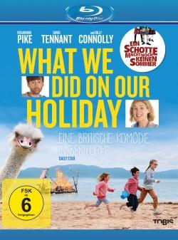 "Das Blu-ray-Cover von ""What We Did On Our Holiday"" (Quelle: Tobis Film)"