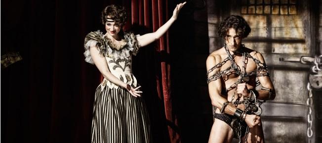 Houdini und seine Frau bei der Arbeit (Quelle: StudioCanal)