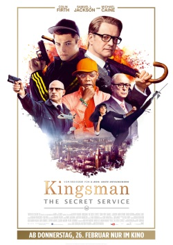 "Das Kinoplakat von ""Kingsman: The Secret Service"" (Quelle: 20th Century Fox)"