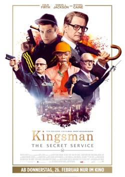 "Das Kinoplakat von ""Kingsman: The Secret Service"" (Quelle: 20th Century Fox)"