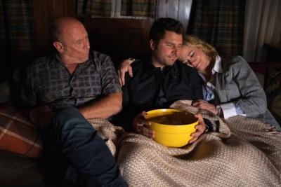 Shawn im Kreise seiner Eltern (Quelle: Universal Pictures)