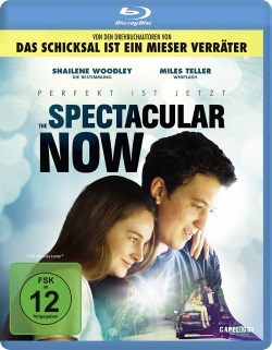 "Das Blu-ray-Cover von ""The Spectacular Now"" (Quelle: Capelight Pictures)"