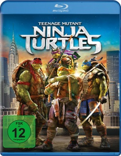 "Das Blu-ray-Cover von ""Teenage Mutant Ninja Turtles"" (Quelle: Paramount Pictures Home Entertainment)"