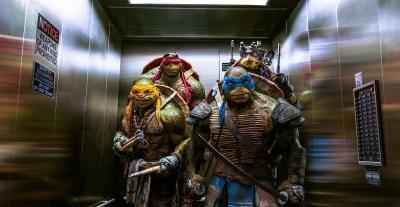 Die Turtles sind bereit für Action (Quelle: Paramount Pictures Home Entertainment)