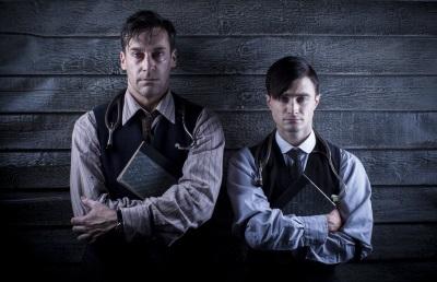 Daniel Radcliffe und Jon Hamm als ein Mann in zwei Alterklassen (Quelle: Polyband Medien)